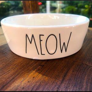 Rae Dunn Cat/Pet Bowl NWT